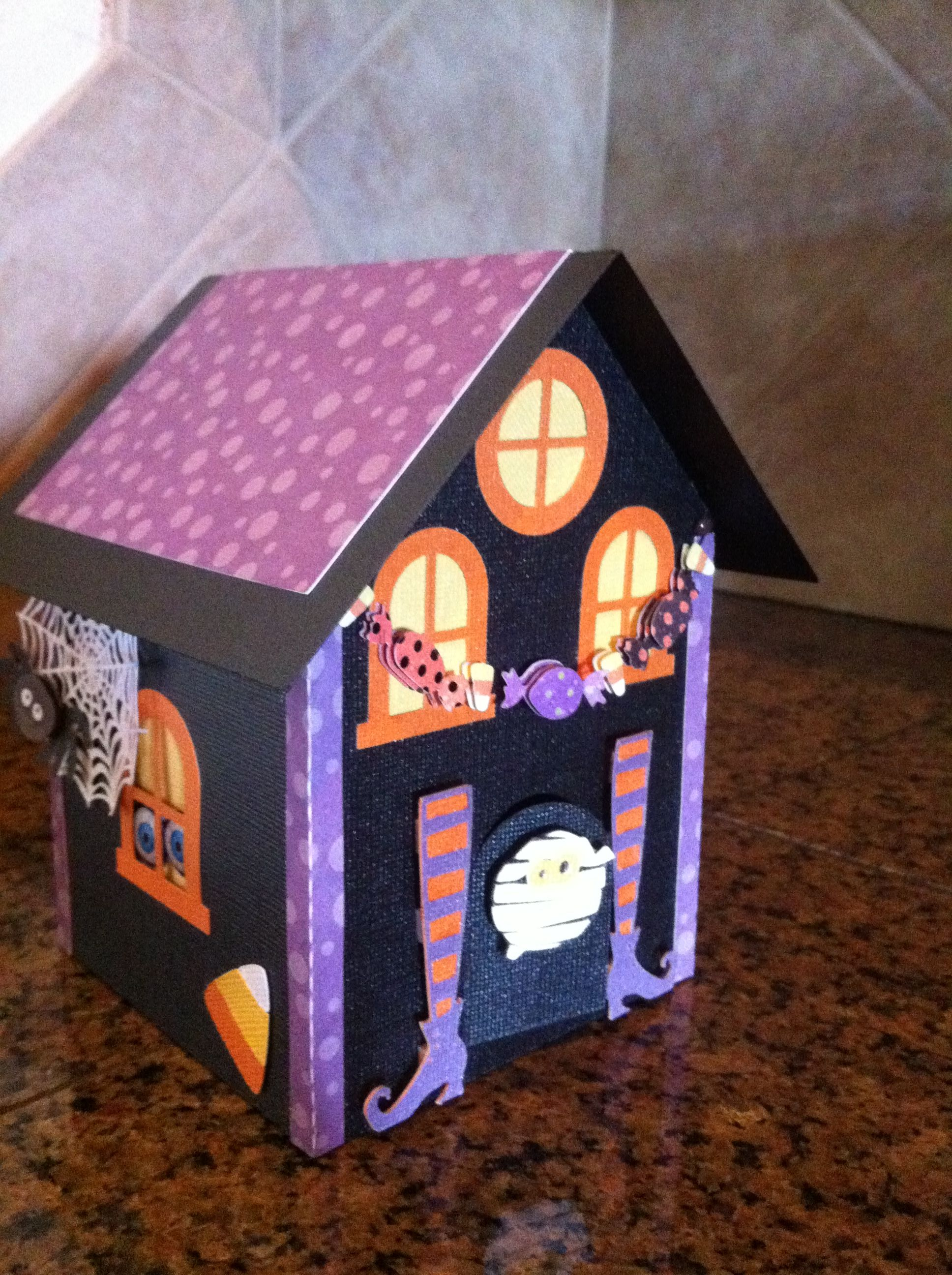 Progetti Per Silhouette Cameo : Another silhouette project using lori whitlock s gingerbread house