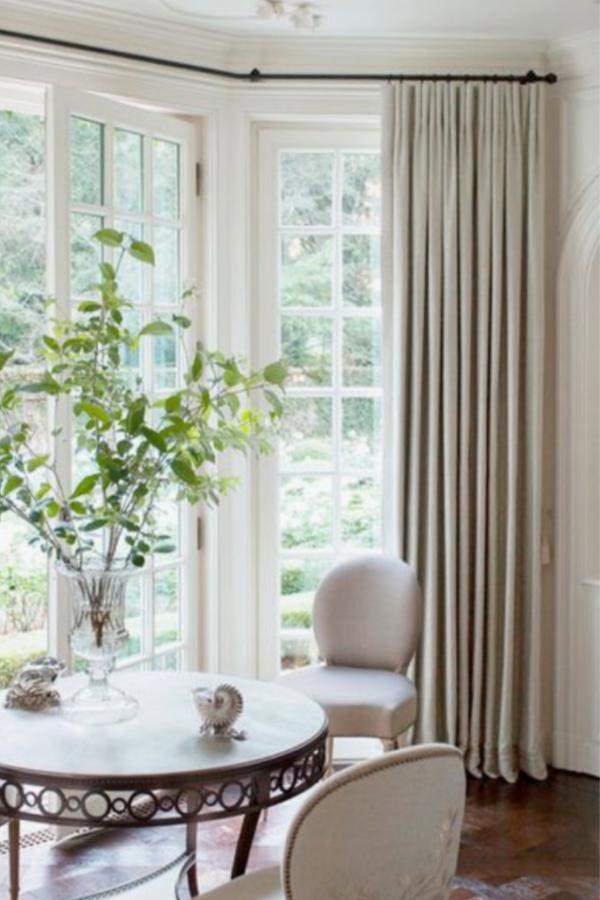 ikea hack...how to make ready made Ikea Ritva curtains look like expensive custom drapes. • mimzy & company