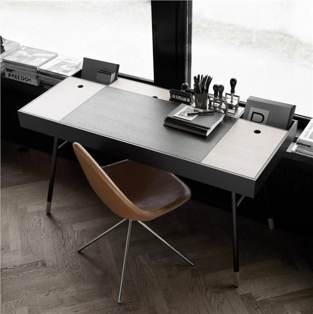 Quality Home Office Desks: BoConcept Cupertino Desk. Well Designed, But For 1k Its