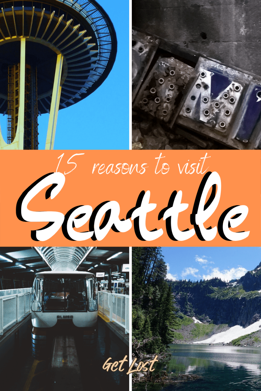 Are you considering a trip to Seattle, Washington? If you need convincing, here is a list of 15 reasons why the city needs to be on your travel bucket list. All the must-see attractions whether it is watching the Seahawks, visiting Pike Place Market, climbing the Space Needle or taking in the skyline. The ultimate guide to things to do in Seattle with tips for planning your travel itinerary. Check it out now! #TravelInspiration #Travel #Adventure #Bucketlist #USATravel #Wanderlust #TravelTips