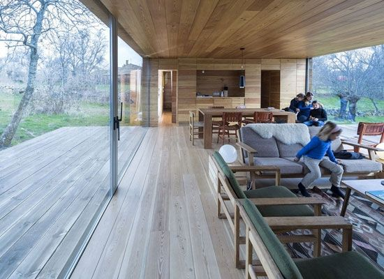 Spanish Rural Retreat design by CH + QS Arquitectos   Featured on Sharedesign.com