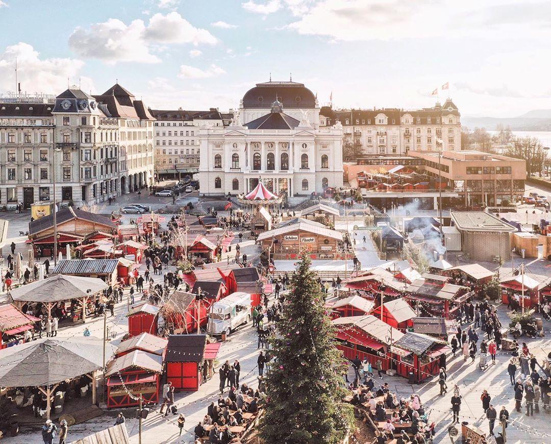 Christmas market in Zurich (mit Bildern) Zürich, Instagram