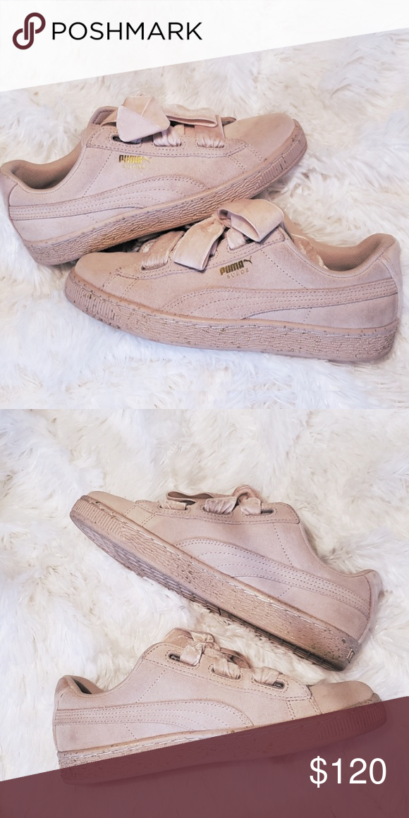 Suede Puma Heart Sneakers *LIMITED EDITION* Limited suede