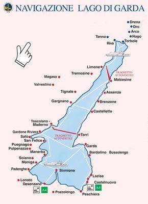 Navigazione Lago Di Garda Gardasee Urlaub Gardasee Gardasee