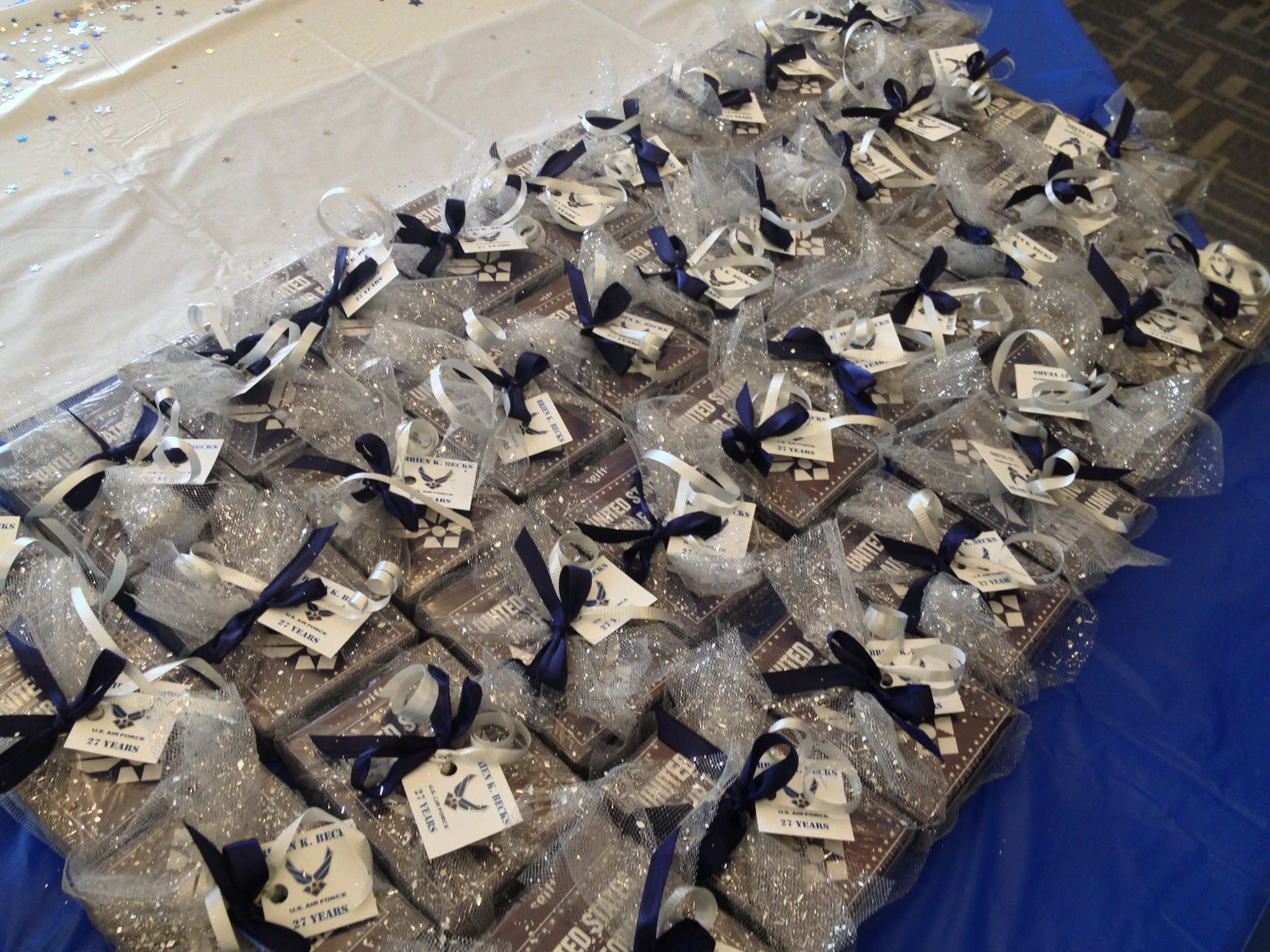 National Guard Retirement Party Favors | Air Force Events ...