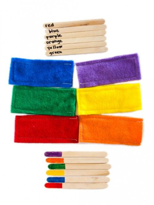 color games for toddlers popsicle stick color matching moms have questions too - Color Games For Toddlers