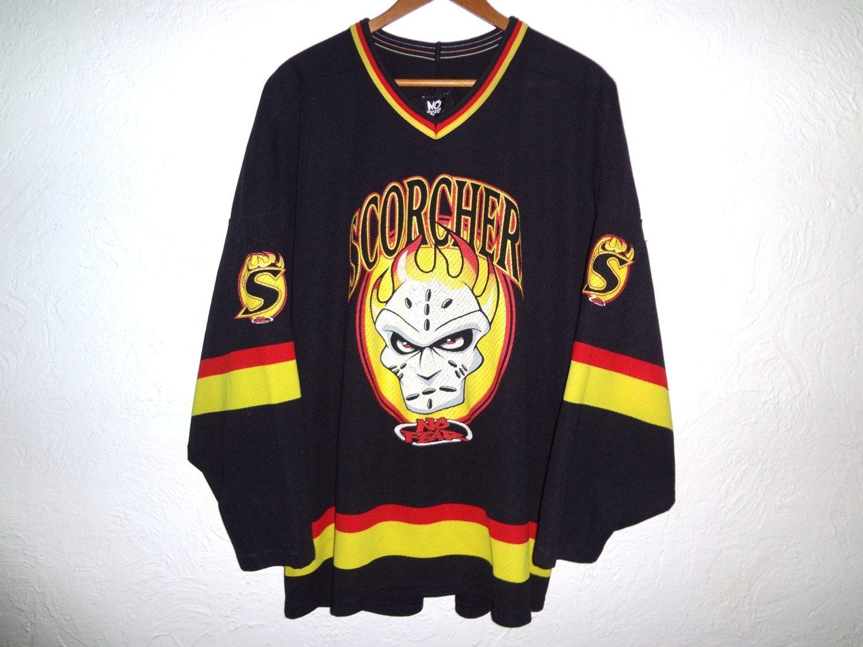 Vintage 90s No Fear Hockey Jersey XL 90s Sports Jersey