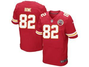 nike nfl elite chiefs 82 dwayne bowe red team color mens stitched jersey. nike nflkansas city