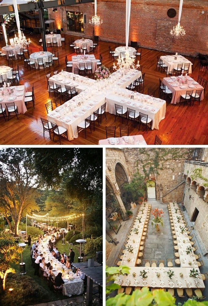 Family Style Head Table Wedding Decorations; Large Venue, Large Family Gets  To Sit Together! Love It.