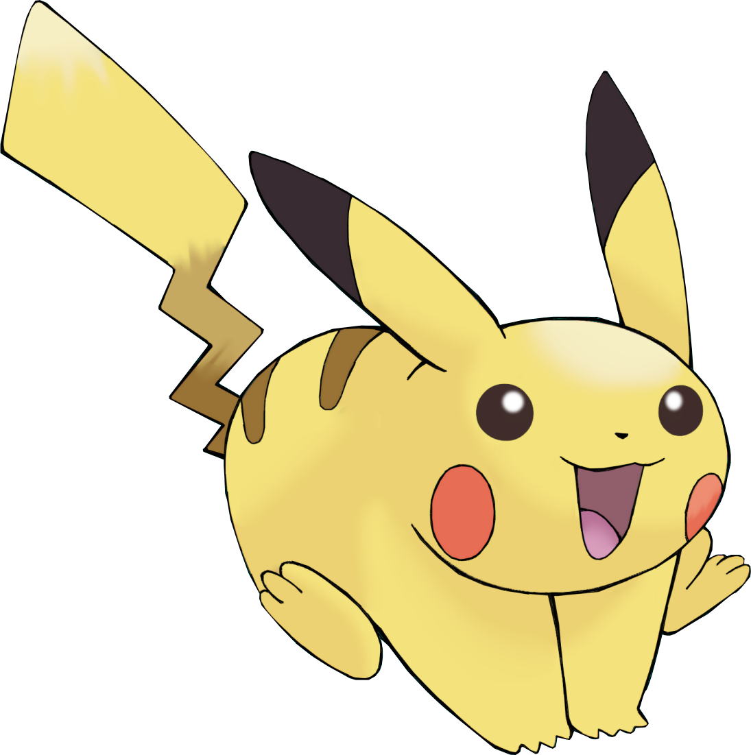 Pokemon Png Image Pikachu Running To The Right Png Download Transparent Png Image Pikachu Pokemon Game Store