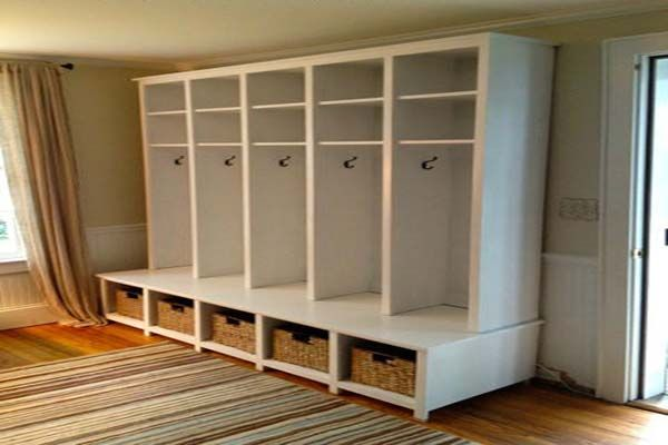 Blueprints For Mudroom Lockers Mudroom Locker Plans Blank Mudroom Furniture Diy Locker Mudroom Lockers