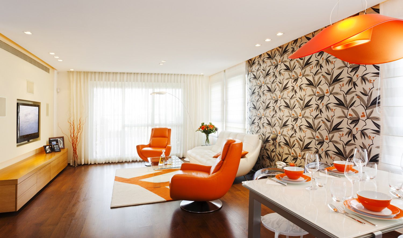 accentmuur behang | woonkamer idee | pinterest, Deco ideeën