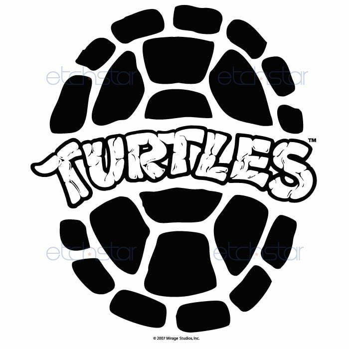 Ninja Turtle Shell Drawing