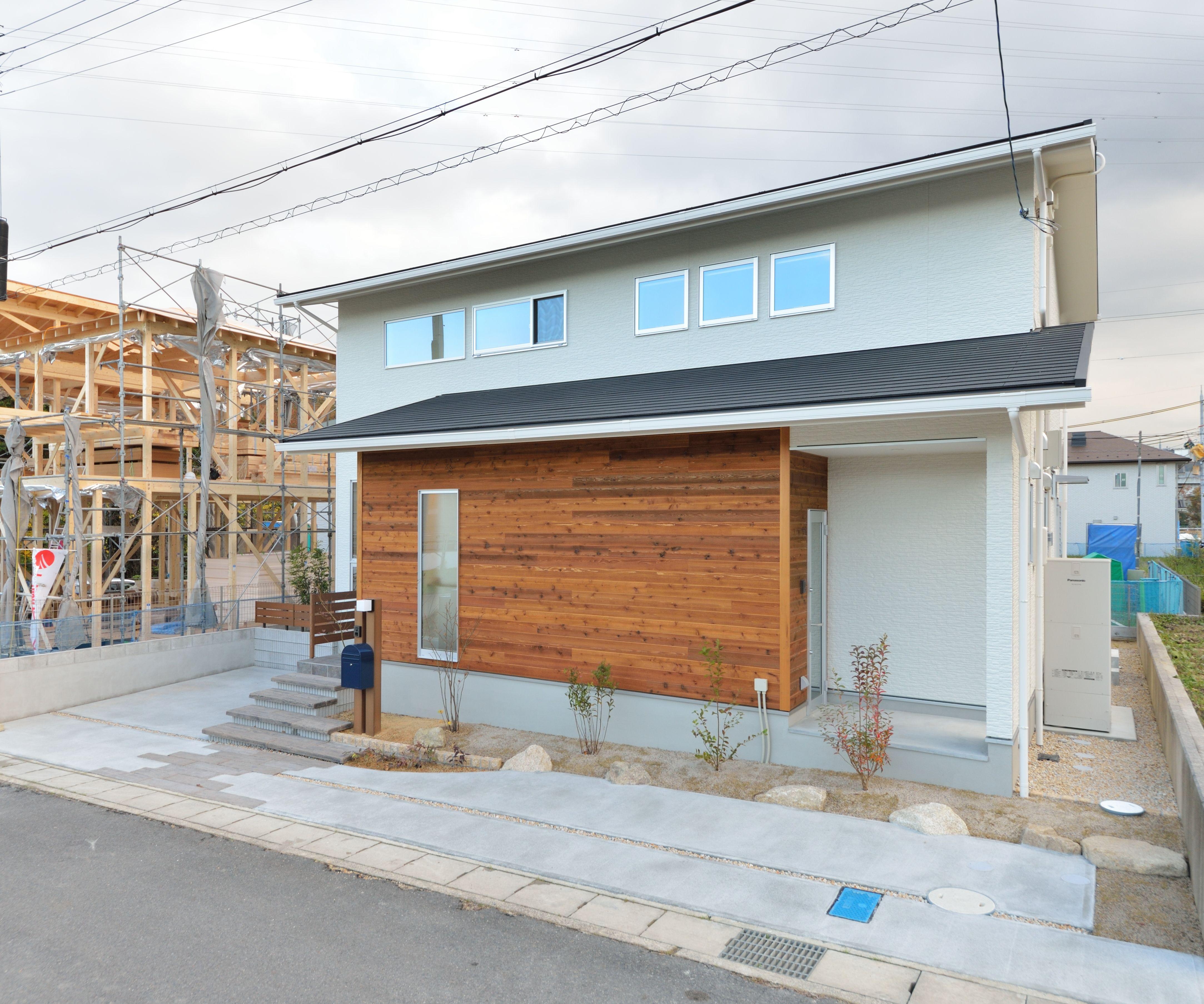 光と風が巡るl字型の家 滋賀県草津市で 注文住宅を施工しております
