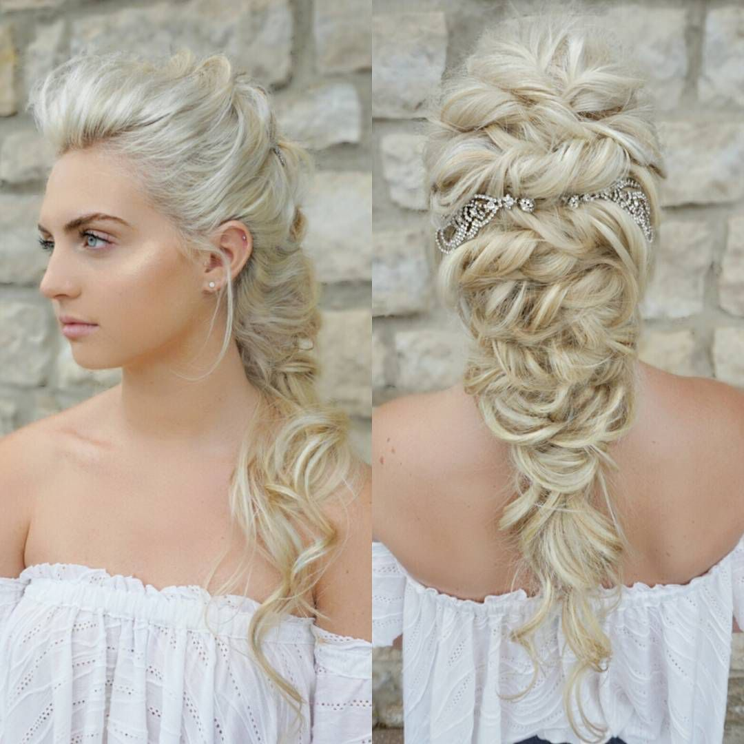 romantic wedding hair by sarah at the blowout bar in dublin