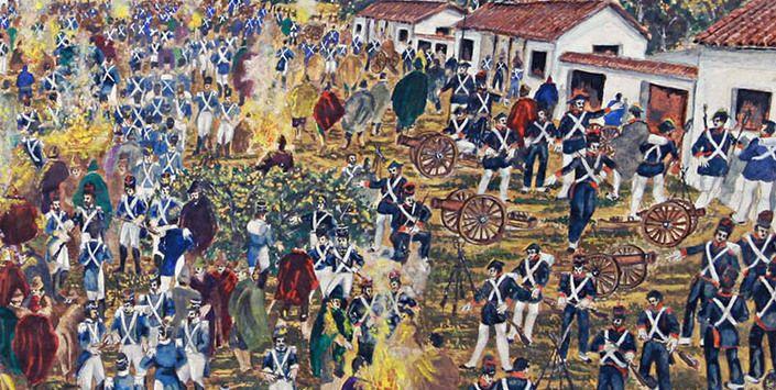 Resultado de imagen para 1813 Sorpresa de Yerbas Buenas, victoria realista
