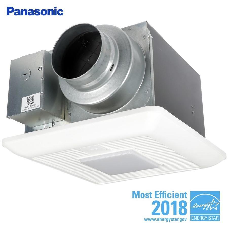 Panasonic Whispergreen 0 3 Sone 110 Cfm White Bathroom Fan Energy