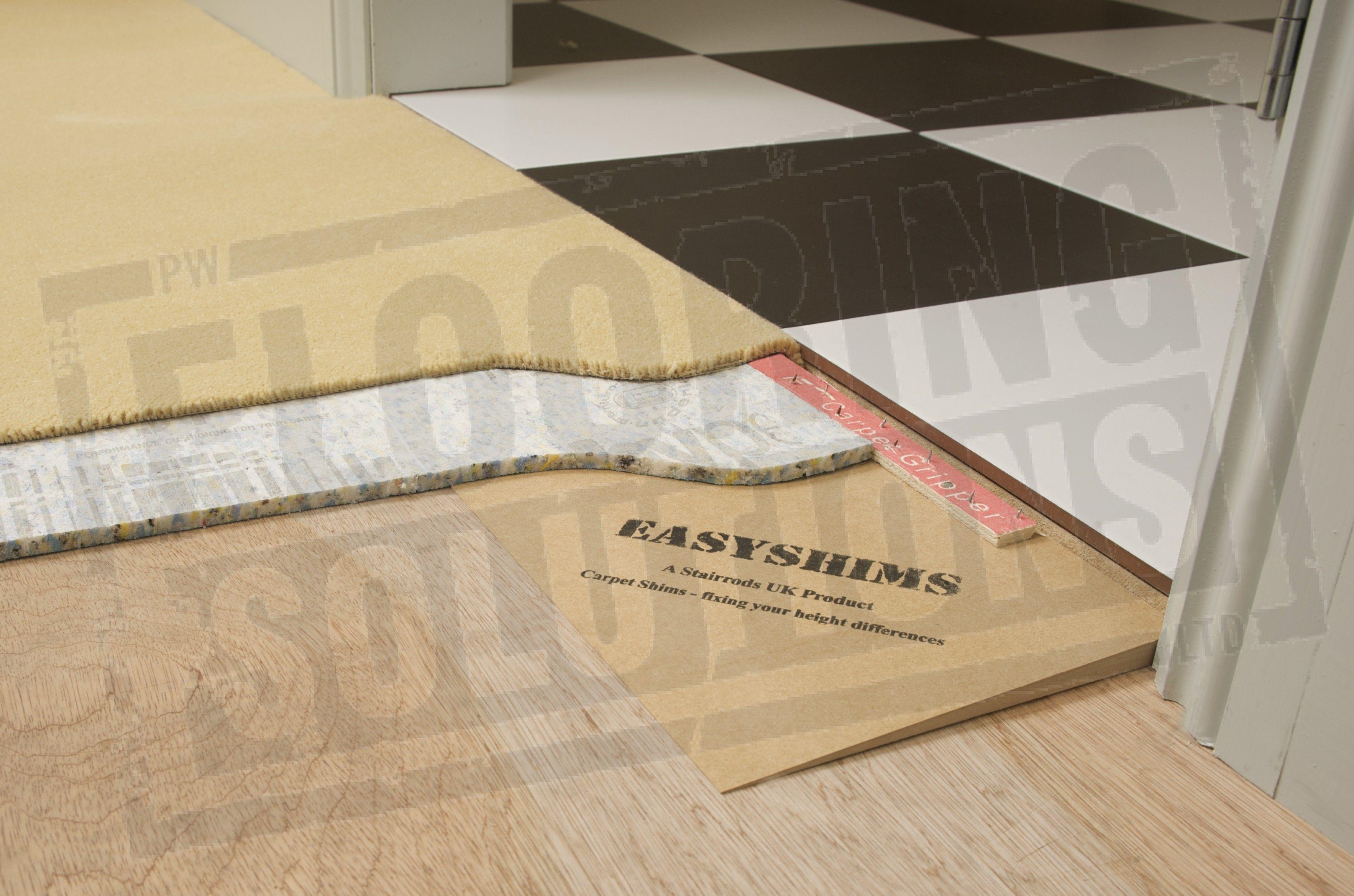 1 46mm Easyshim Carpet Shim Floor Transition Strips Carpet Transition Strips