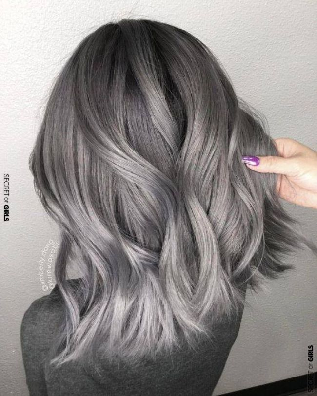 Stand Out With Your Ash Colored Hairs Haircolors Ashcolor Ashcolored Gray Grayhairs Hairstyles Haircolori Ash Hair Color Silver Hair Dye Silver Ash Hair
