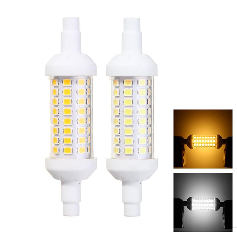 6w R7s 2835 Smd Non Dimmable Led Flood Light Replaces Halogen Lamp Ceramics High Bright Ac220 265v Light R7s Non Ac220 Halogen Lamp Dimmable Led Led Flood