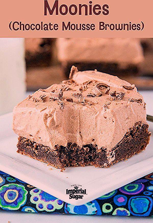 Moonies (Schokoladenmousse Brownies) | Kaiserlicher Zucker,