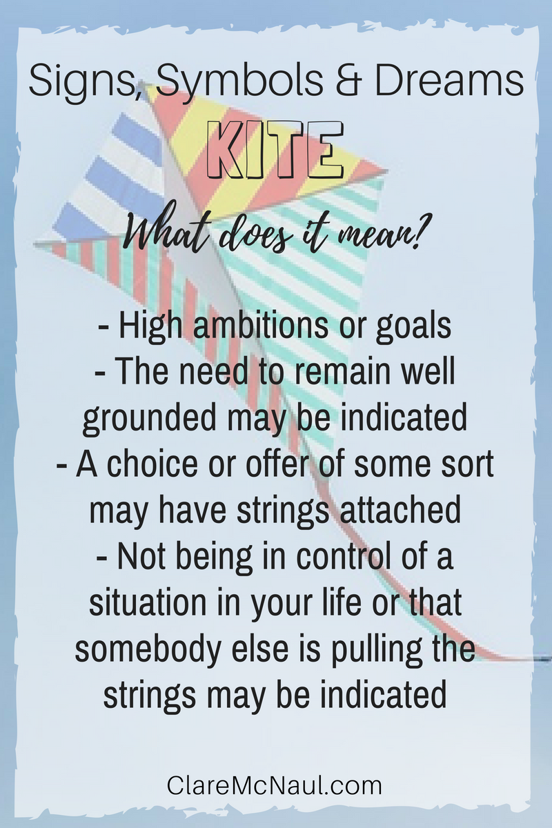Is it all up up and away or focused on grounding when Kite presents in your dreams or psychic and mediumship readings Here are some intprepretations  Is it all up up and...