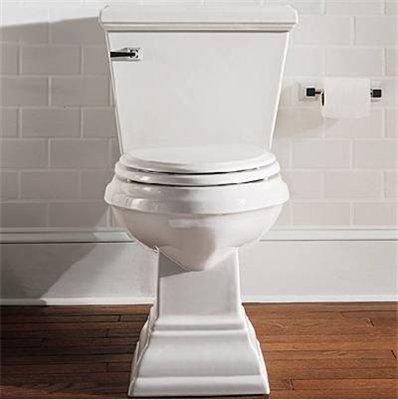 Square Base Toilet To Match Pedestal Sink American