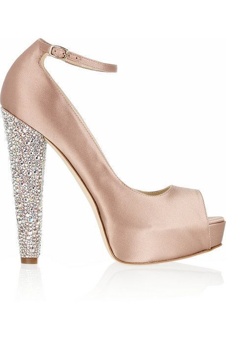 Brian Atwood Satin Peep-Toe Pumps clearance low price fee shipping free shipping many kinds of 100% guaranteed cheap price discount pre order for sale the cheapest osCxH