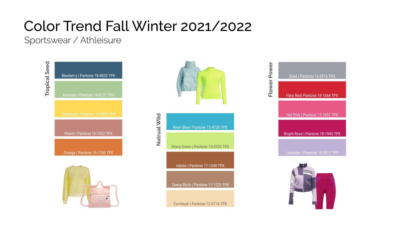 sport fabric color trend fall winter 2021 2022 in 2020 on 2021 decor colour trend predictions id=63553