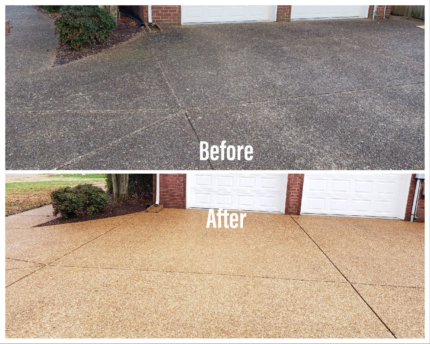 This Before After Pressure Washing Cleaning Is Stunning In 2020 Pressure Washing Pressure Washing Services Outdoor Decor