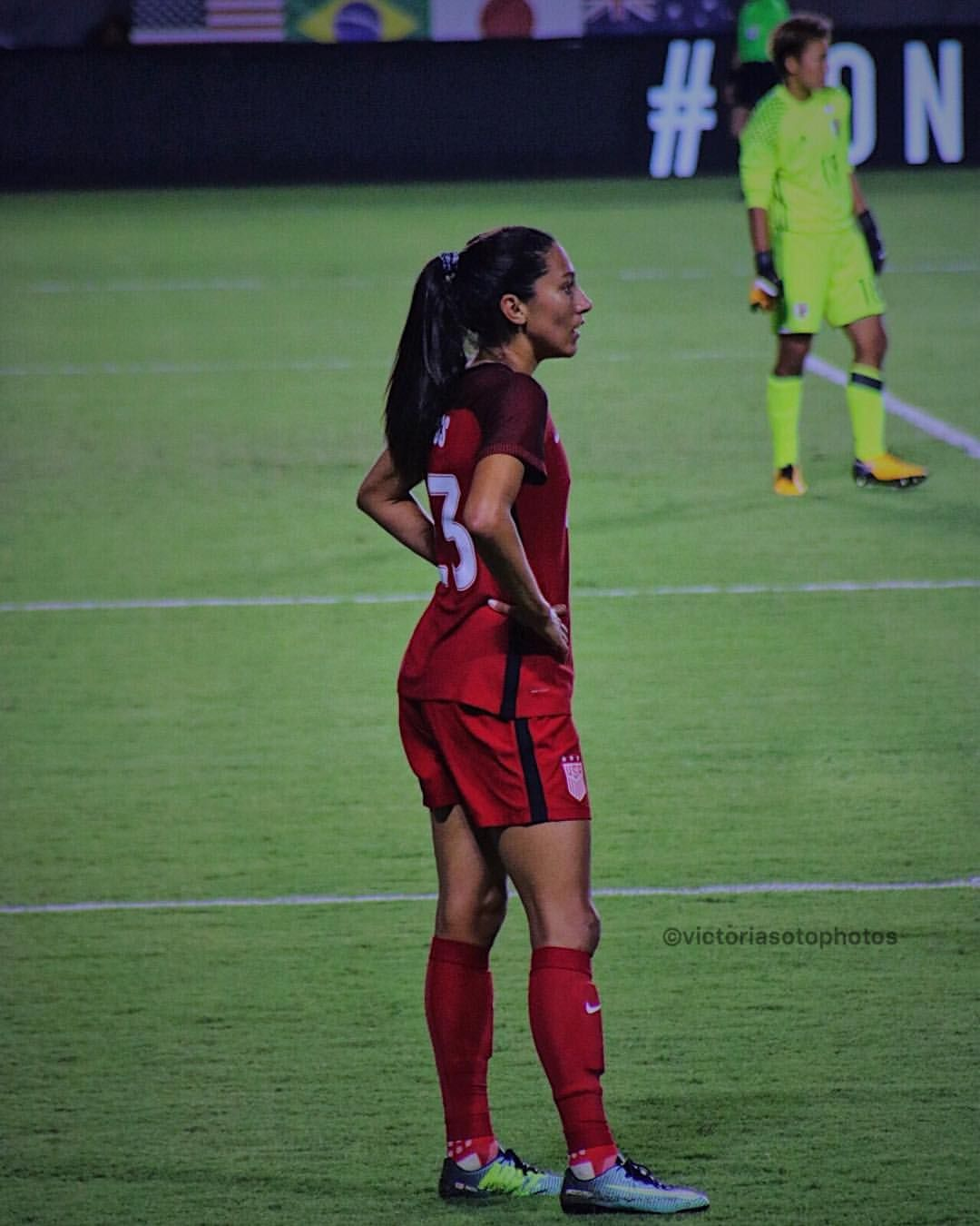 Christen Press Usa 3 0 Jpn Ton Aug 3 2017 Women S Soccer Team Uswnt Soccer Football Girls