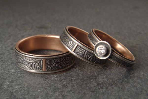 b47f545de7b03 Down to the Wire for Unique Handmade Wedding Rings | Clothes ...