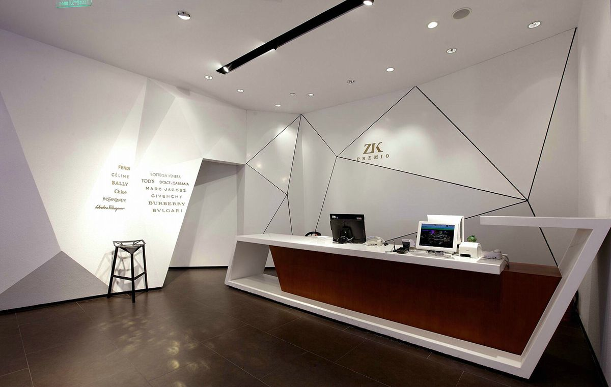 Zk premio on behance comercial pinterest for Diseno de oficinas corporativas