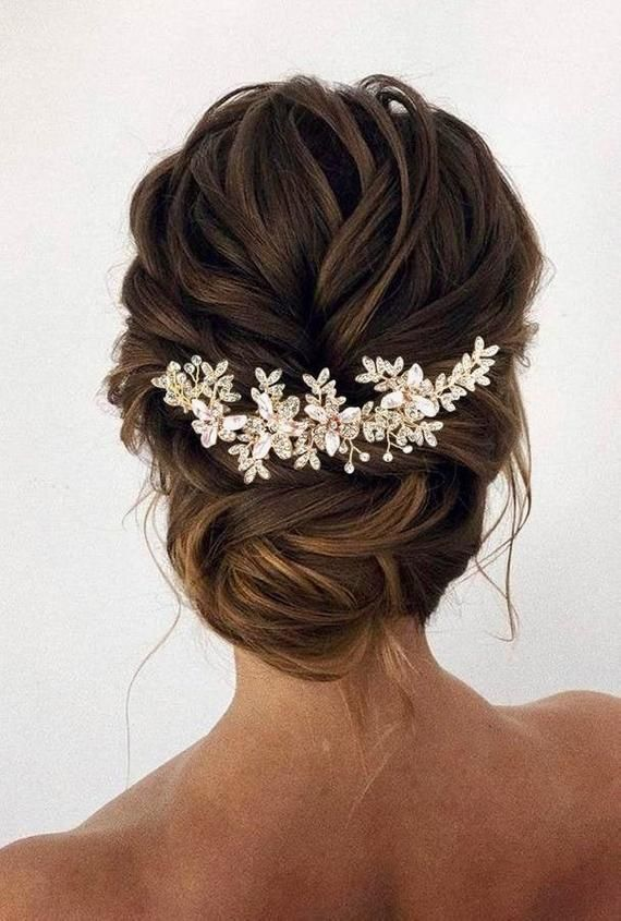 Bridal Hair Vine Rose gold Wedding Hair piece Bridal hair accessories Wedding Hair Accessories Rose