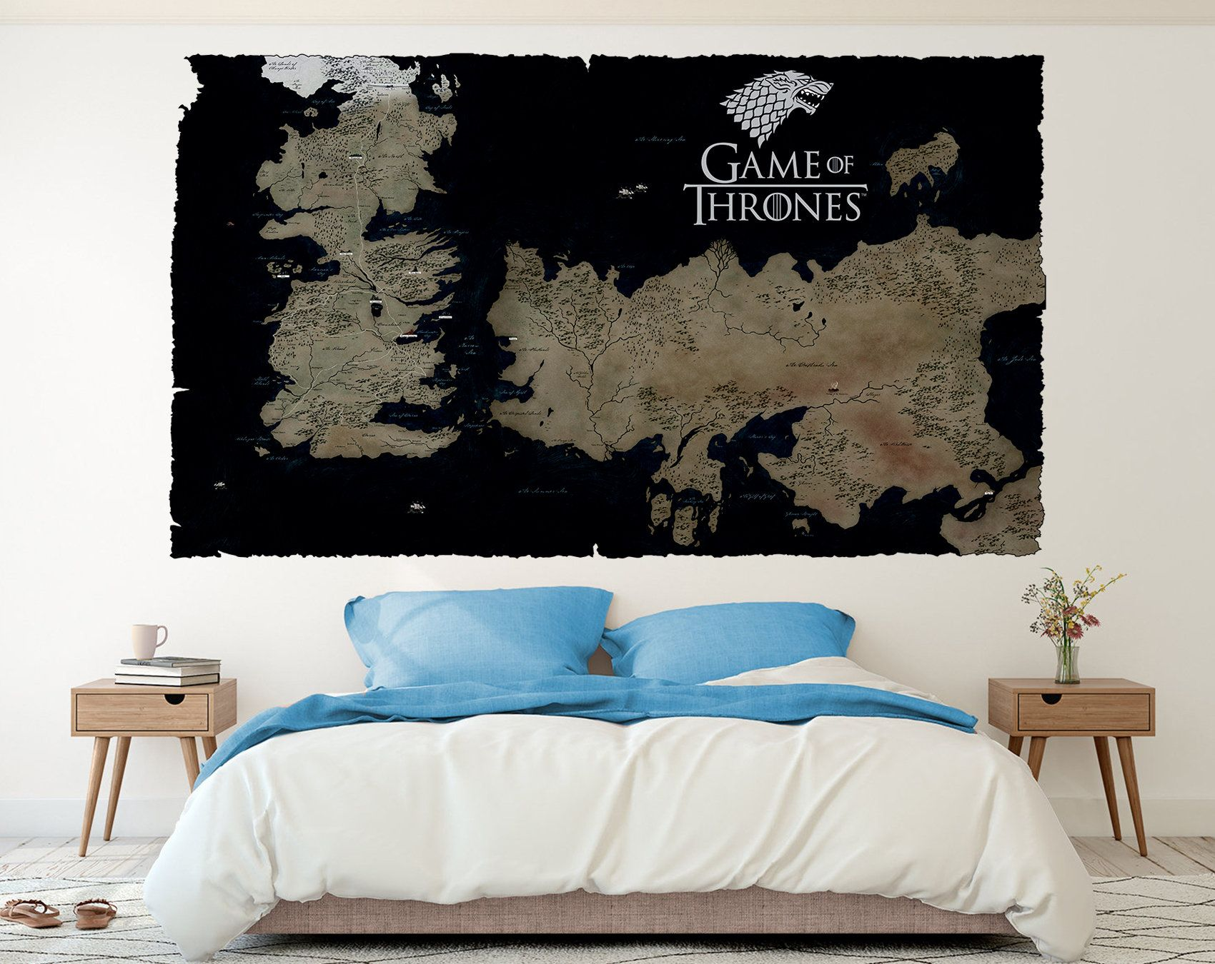Game Of Thrones Map Wall decal Westeros and Essos Game of ... Game Of Thrones Map Wall on game of thrones review, game of thrones posters, game of thrones book, game of thrones winter, game of thrones diagram, game of thrones kit, game of thrones wildlings, game of thrones globe, game of thrones magazine, game of thrones win or die, game of thrones maps hbo, game of thrones garden, game of thrones war, game of thrones pins, game of thrones maps pdf, game of thrones castles, game of thrones hardcover, game of thrones white walkers, game of thrones table, game of thrones letter,