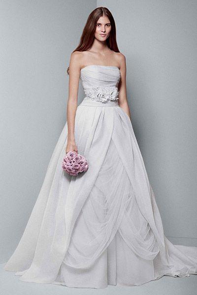 a65de2231b6e Wedding Ideas Blog | Wedding Dresses | Wedding dress organza, Vera ...