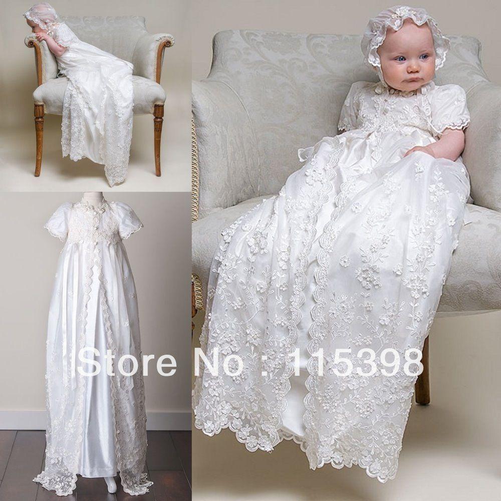 apariencia elegante obtener online completamente elegante vestidos para bautizos de niña de 2 años de bautizo/de bebé ...