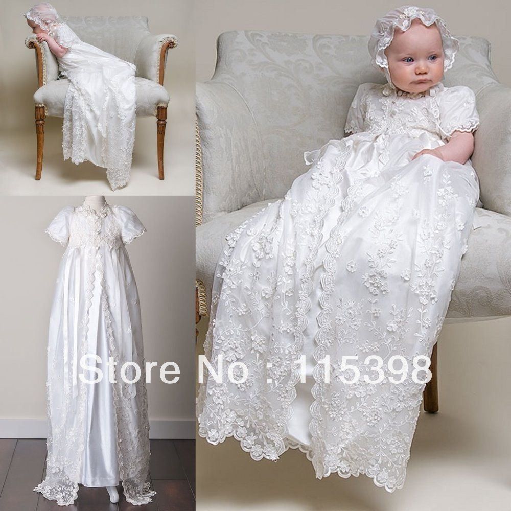 vestidos para bautizos de niña de 2 años de bautizo de bebé niña ... 0b30052753d