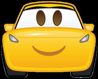 Cruz As An Emoji Drawing By Disney Cars3 Car Emoji Disney Emoji Disney Pixar Cars