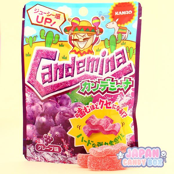 Chewy Candemina Gsour Candies From Last Months Japan Candy Box Are Wavy And Tangy