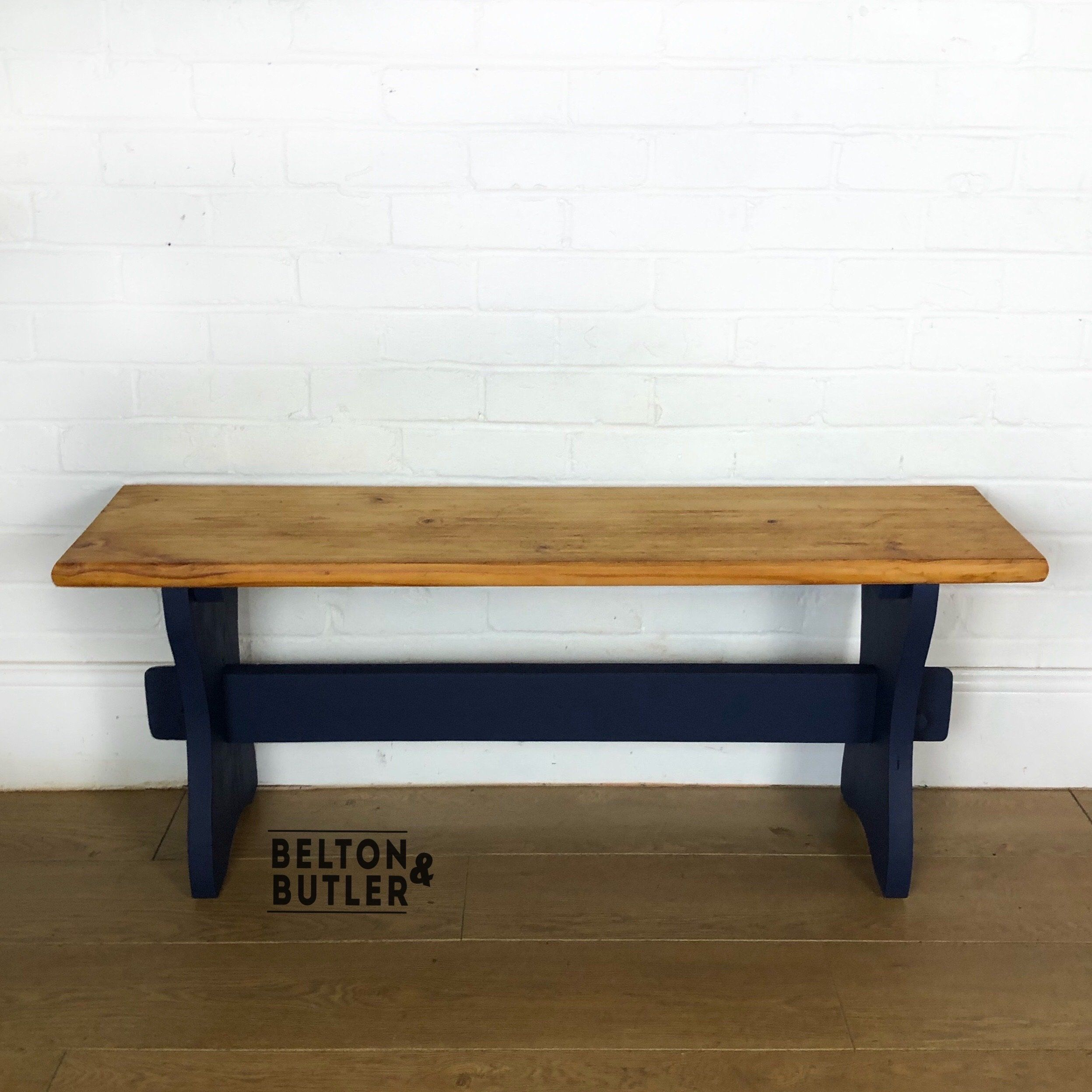 Pine Bench for Hallway or Dining Table
