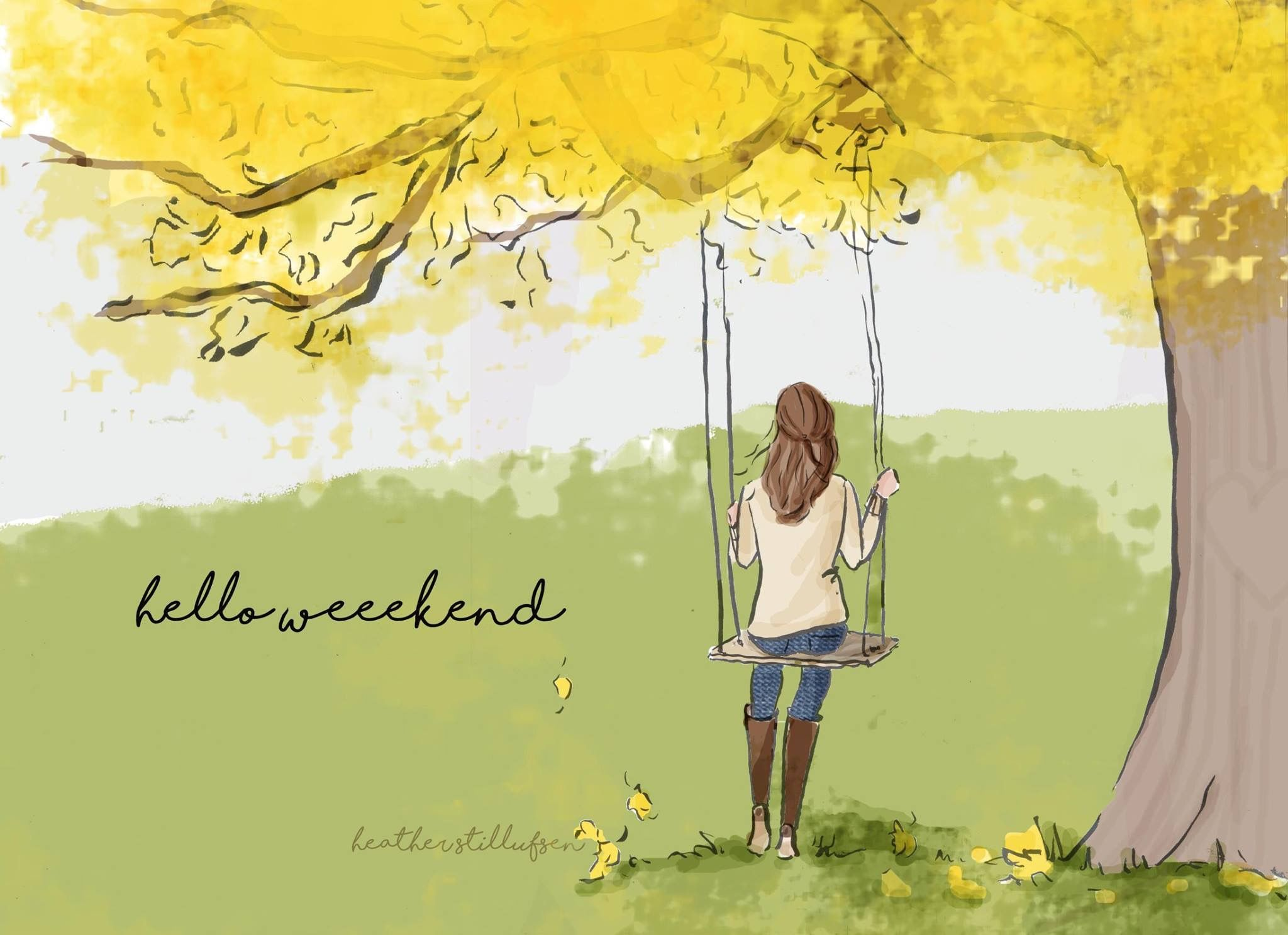 Hello Weekend, Happy Weekend, Picture Quotes, Quotes Pics, Heather  Ou0027rourke, Design Studios, Design Quotes, Art Print, Rose