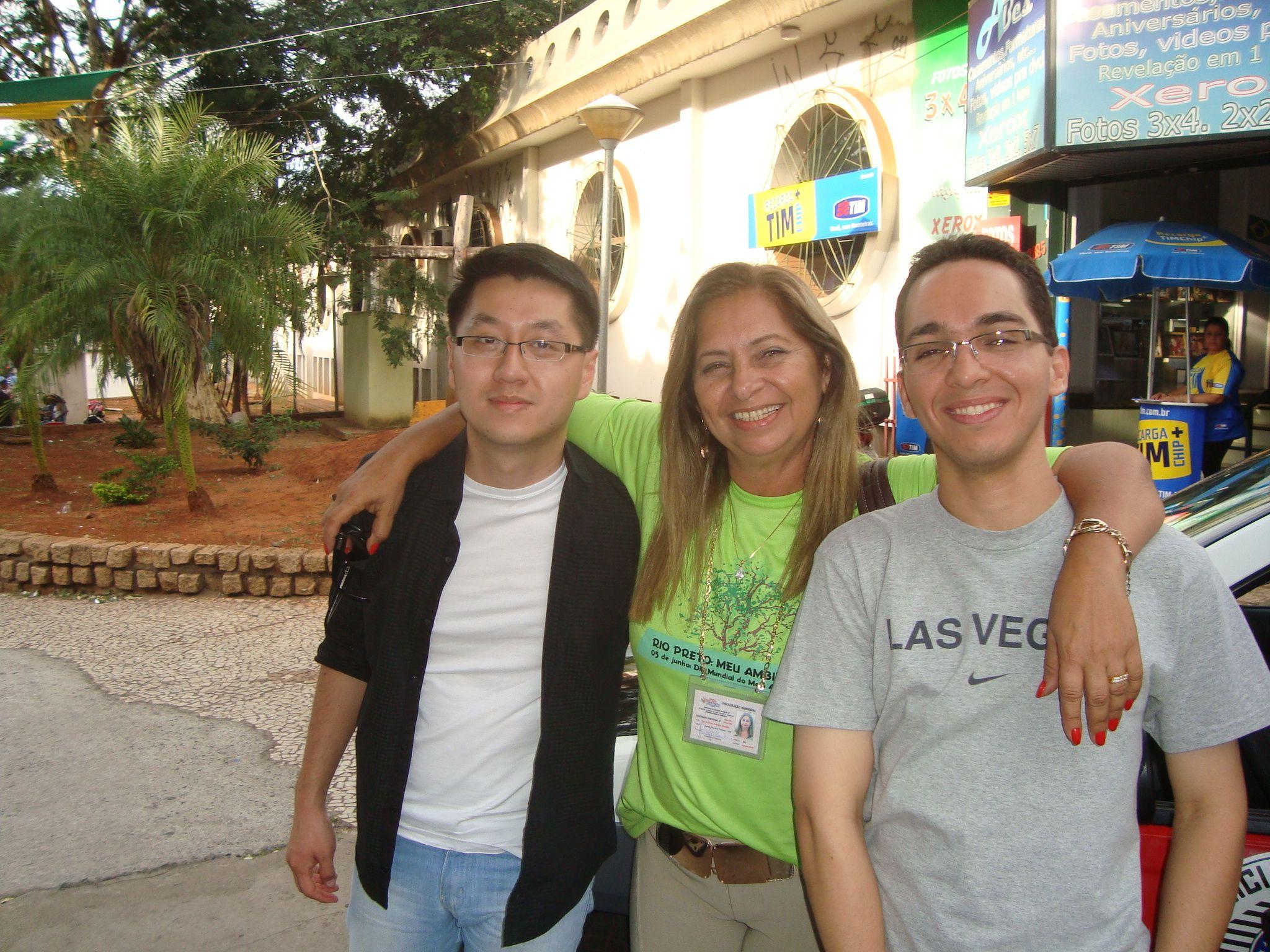 Fernando Fukunishi, Iris Tomaelo e Leandro Blanco Soares