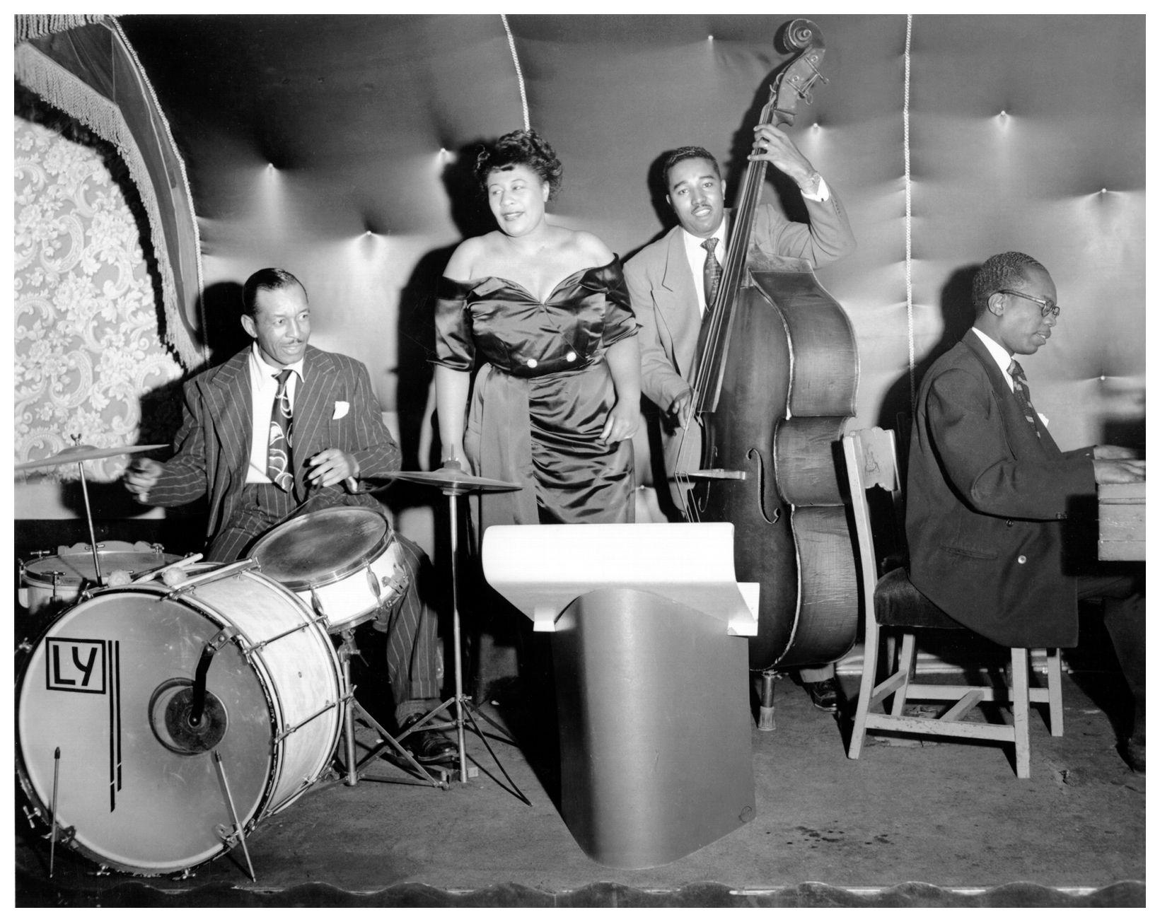 Ella Fitzgerald | © Jazzinphoto | Pagina 2 | MUSICIANS I ...