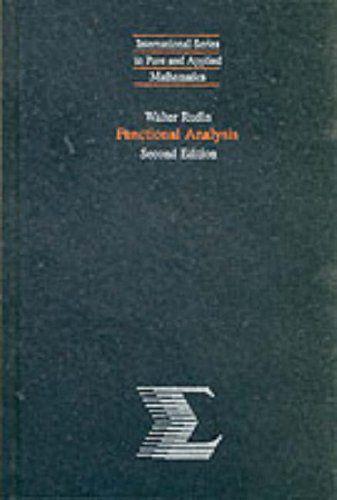 Functional Analysis by Walter Rudin | Mathematics Textbooks