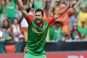 Bangladesh cricket captain Mashrafe Bin Mortaza is happy that India has announced full-strength squads for its tour next month. The Board of Control for Cricket in India (BCCI) on Wednesday named a Virat Kohli-led Test side and an One-Day International (ODI) squad captained by Mahendra Singh Dhoni. The announcement ended speculation of India resting their top players, reports bdnews24.com.