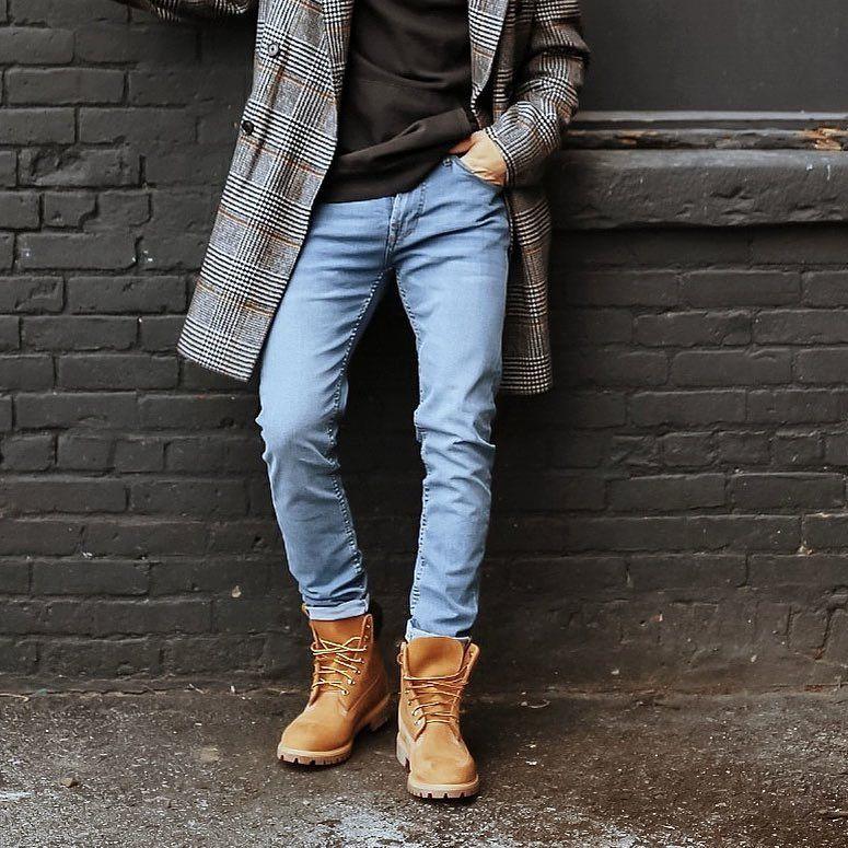 Prefacio Perímetro Pantano  Jeans doblados para hacer lucir las botas. Aquí más recomendacione | Ropa  hipster hombre, Moda botas hombre, Moda ropa hombre