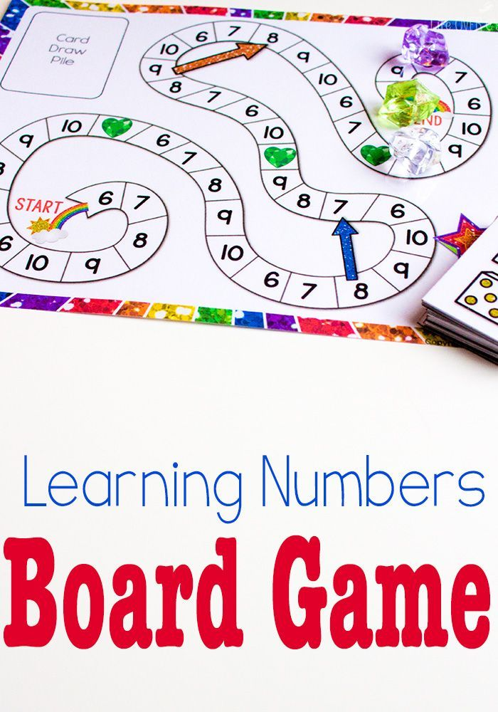 Free Printable Counting Game Numbers 6 10 Numbers Preschool