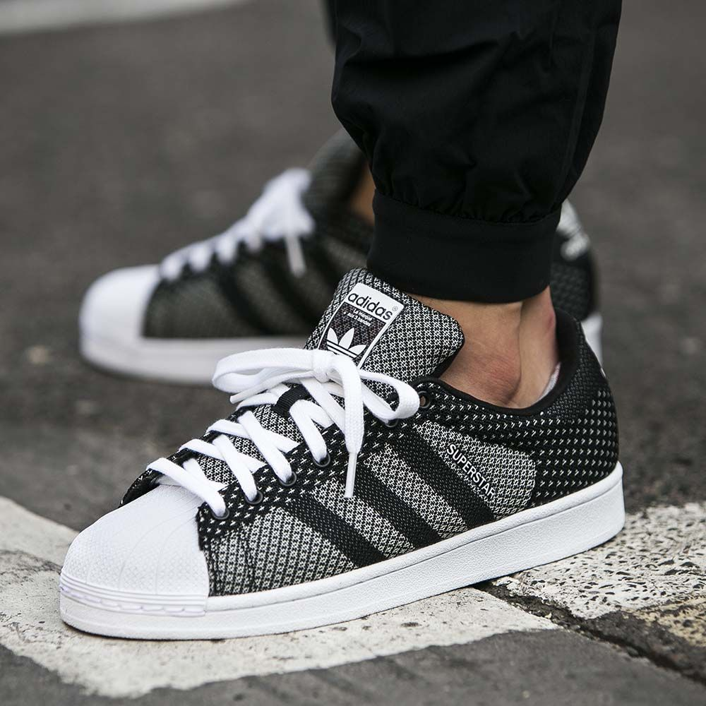 adidas Superstar Weave 'Clear Grey' & 'Core Black' | Adidas ...