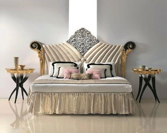 Versace home classic bedroom furniture italian for Mobili versace